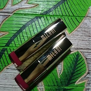x2 Milani Color Statement LipStick-Brand New